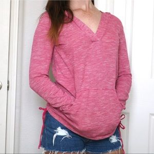 Roxy Long Sleeve Shirt w/ Hood